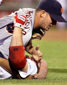 APTOPIX Tigers Red Sox Baseball